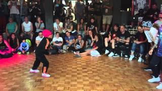 IBE Heart Breaker 2v2 Bgirl Battle Finals Bgirl Eddie & Bgirl Terra vs Candy & Ladione