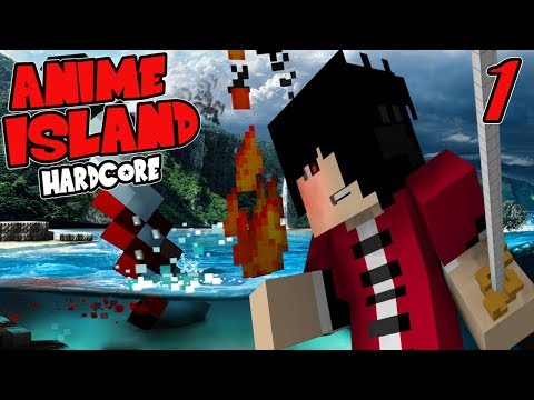 JUST SURVIVE! || Hardcore Anime Island Modpack Episode 1 (Minecraft Hardcore Island Modpack)