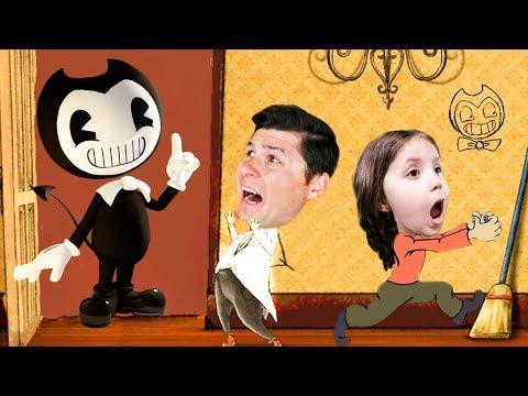 МУРАШКИ ПО КОЖЕ Приключение в доме БЕНДИ Папе очень страшно ГЛАВА 3 видео для детей KIDS CHILDREN