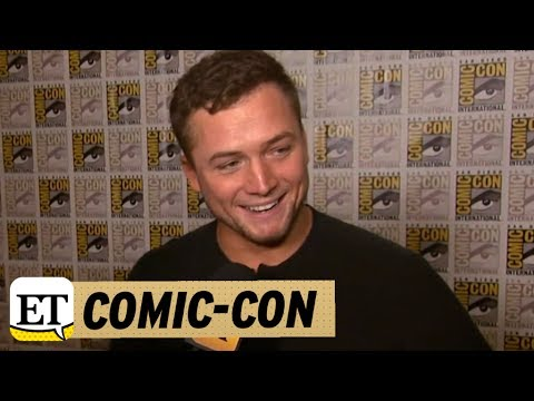 Comic-Con: Taron Egerton on 'Kingsman' Fight Scene With Channing Tatum: 'I'd Take [Him] Any Day'