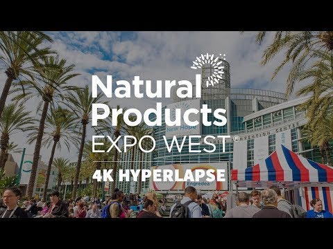 Natural Products Expo West & Engredea 2018: Seen through 4K Hyperlapse