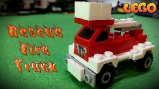 Пожарная Спасательная Машина, Лего #мультики, Аналог #LEGO(Конструктор лего Пожарная Спасательная Машина с авто лестницей, спасательная техника #лего мультики, анало..., 2016-05-04T14:30:01.000Z)