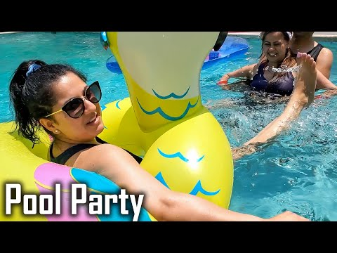 We Rented Entire Swimming Pool to Ourselves   Our Private Pool Party