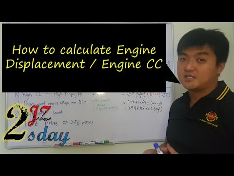 2JZ Tuesday #5 - How to calculate engine displacement/ Engine CC
