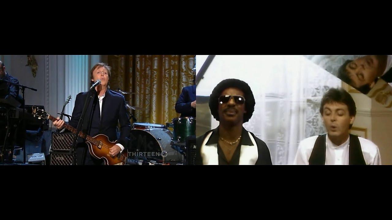 Paul McCartney Michael Jackson The Man So Bad