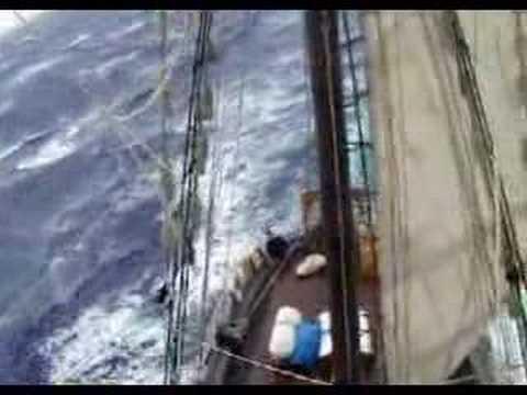 Tallship gale - ocean sailing