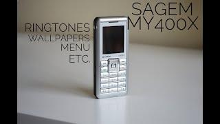 Sagem My400x - Ringtones | Wallpapers | Menu