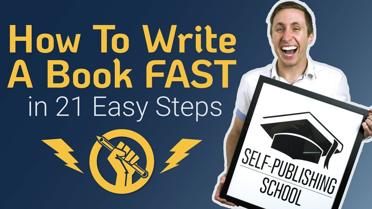 How to Write a Book Step by Step: Essentials for a Good Book [Video]
