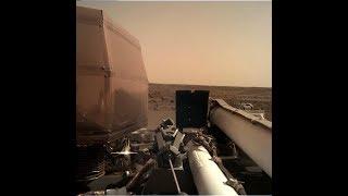 Видео посадка на Марс. Как все прошло Зонд  NSight NASA. Первые фотографии с Марса.