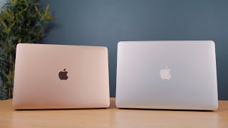 New 2018 MacBook Air vs. Old MacBook Air