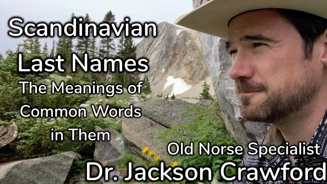 Scandinavian Last Names Meanings Youtube