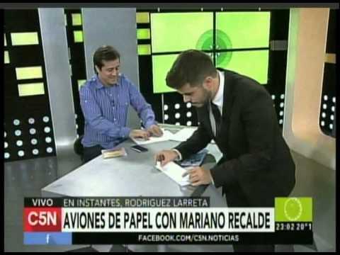 C5N -  POLITICA: ENTREVISTA A FONDO CON MARIANO RECALDE (PARTE 2)