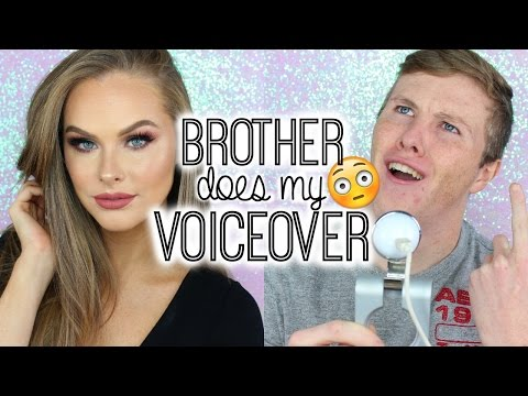 Brother Does My Voice Over!