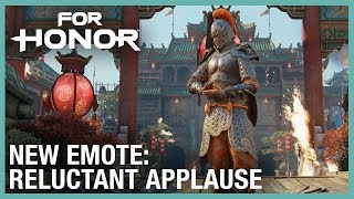 For Honor: New Free Roam Emote | Weekly Content Update: 02/06/2020 | Ubisoft [NA]