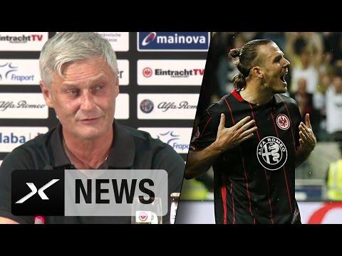 "Armin Veh erklärt 3-Tore-Mann Alex Meier: ""Er ist unnormal"" | Eintracht Frankfurt - 1. FC Köln 6:2"