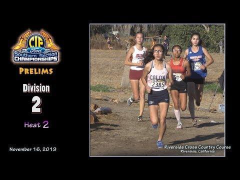 2019 XC - CIF-ss Prelims - 12 (D2 Girls, Heat 2 Of 2)