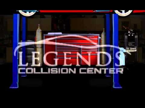 Body Shop | Mesa, AZ -- Legends Collision Center