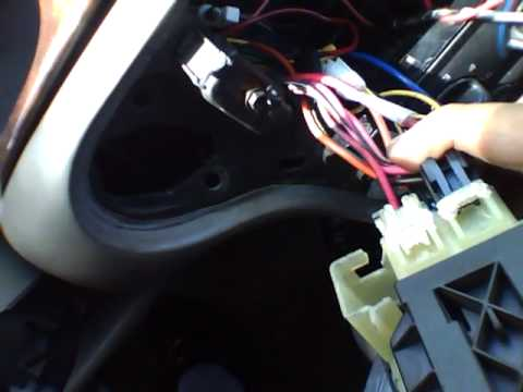 hqdefault chevy malibu 2000 ignition switch won't turn its stuck 2003 impala ignition switch wiring diagram at mifinder.co