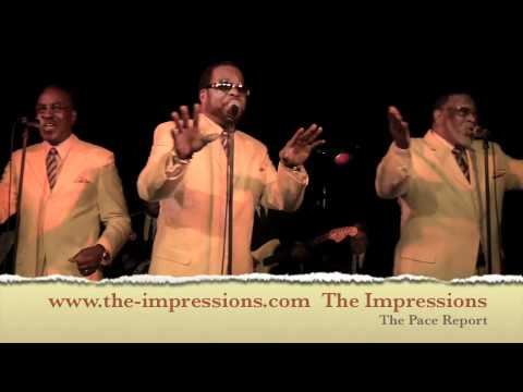 """The Pace Report: """"Impressions of Curtis"""" The Impressions Interview wsg Binky Griptite"""