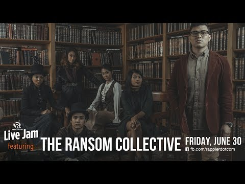 Rappler Live Jam: The Ransom Collective