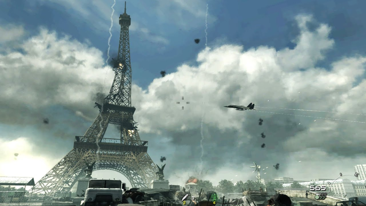 Battle of Paris - Call of Duty Modern Warfare 3