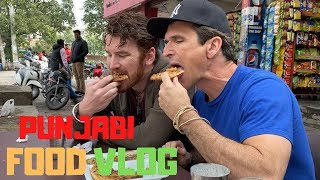 Americans Try Punjabi Food First Time in Amritsar!!! |