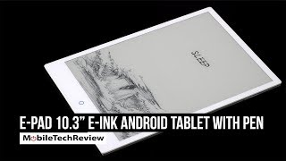 "E-Pad 10.3"" E-Ink Android Tablet & eReader with Pen"