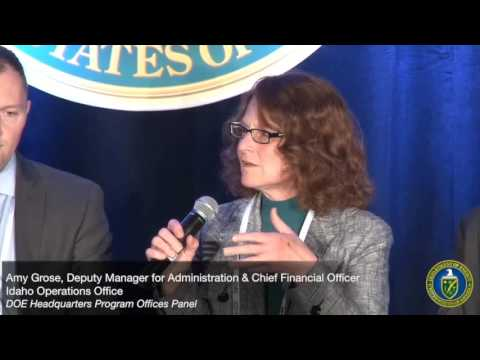 15TH ANNUAL U.S. DEPARTMENT OF ENERGY SMALL BUSINESS FORUM & EXPO - HQ Program Offices