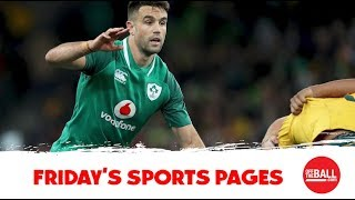 The Sports Pages: Conor Murray on rumours, Champs Cup moving weekend, Rice