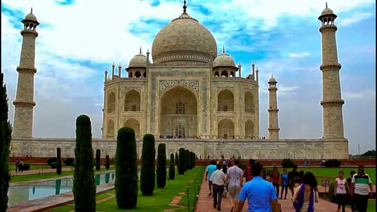 taj mahal (hd) .. truly the most beautiful man made structure on