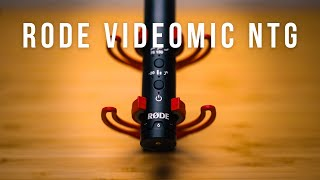 fantastic On Camera Microphone! RODE VIDEOMIC NTG Review