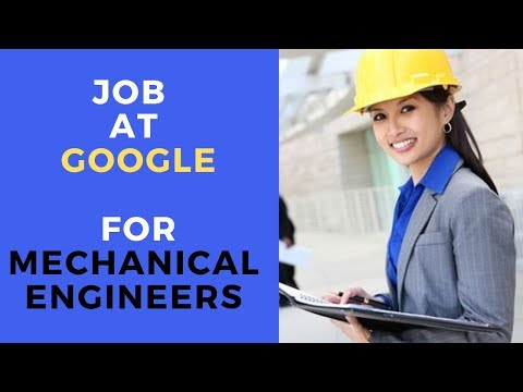 Mechanical Engineering Jobs At Google | Apply With Your CAD Skills