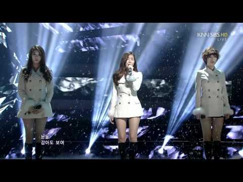 120129 SBS Inkigayo | T-ara, Davichi - We Were In Love