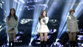 120129 Sbs Inkigayo T Ara Davichi We Were In Love