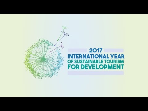 International Year of Sustainable Tourism for Development. January 18, 2017 - ENGLISH