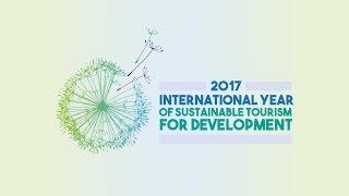 International Year of Sustainable Tourism for Development. January 18, 2017 - ENGLISH thumbnail