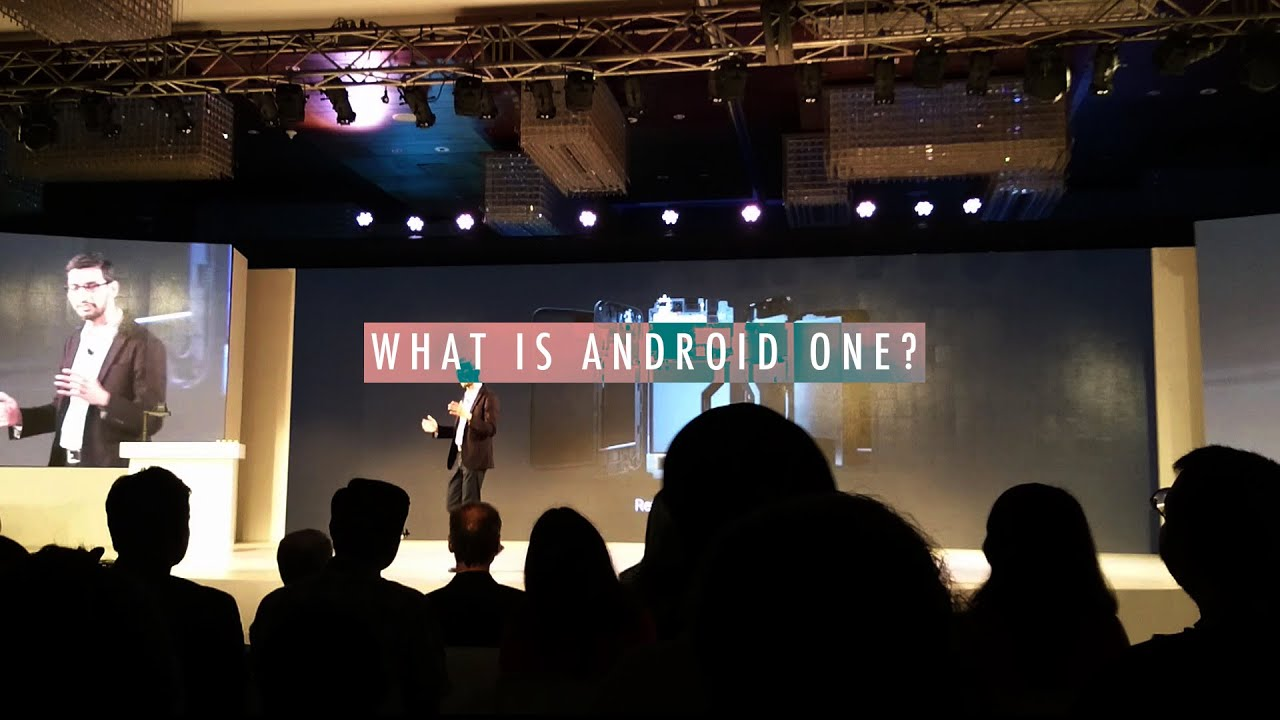 What is Android One? Sundar Pichai explains - YouTube