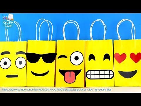 Emoji Goodie Bags DIY