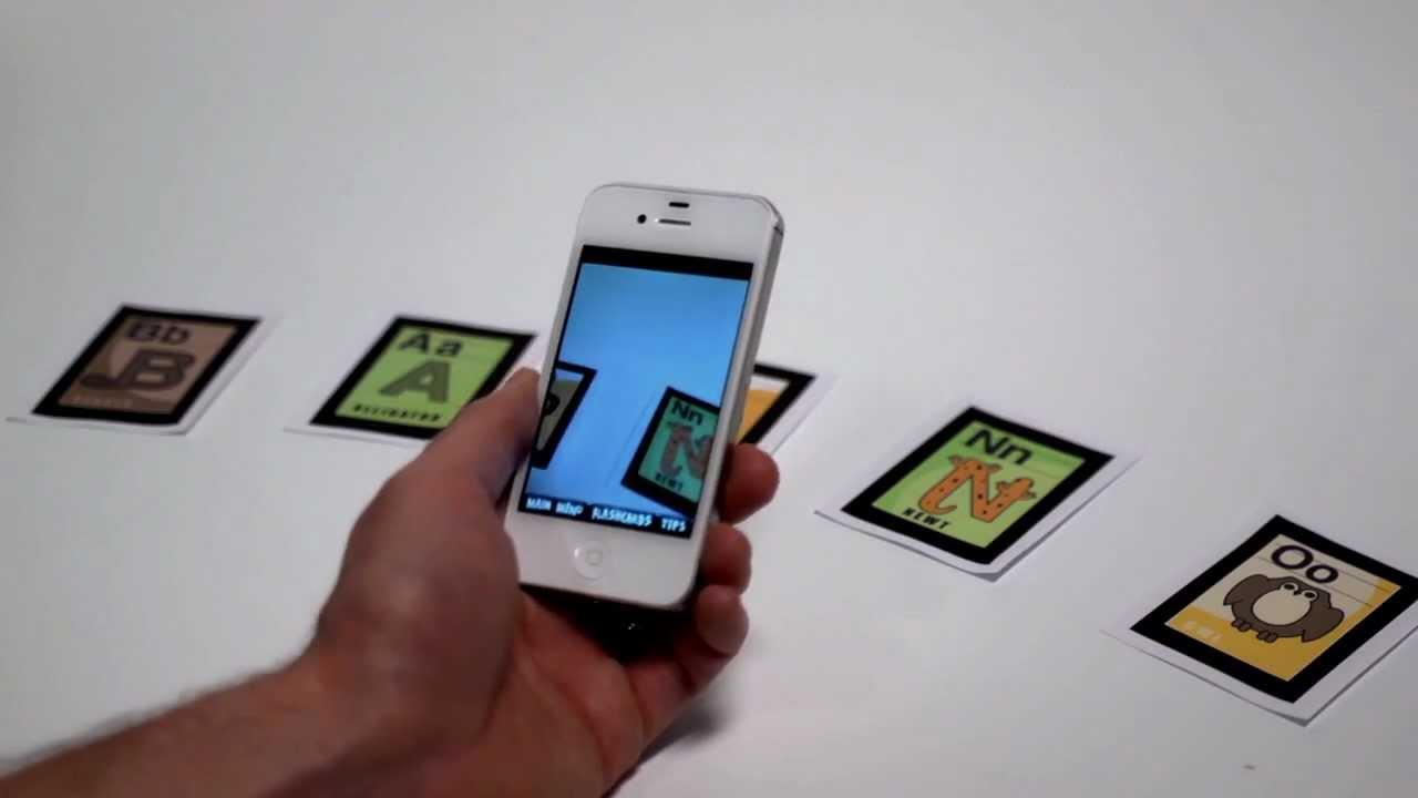 the alphabet flash cards