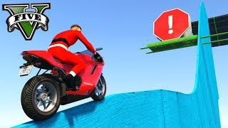 GTA V Online: SKILL TEST DO FININHO com MOTOS!!! DIFÍCIL