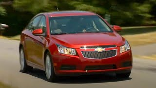 New Chevrolet Cruze Driving + interior/exterior (HD)