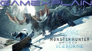 Monster Hunter World: Iceborne Direct-Feed Gameplay (E3 2019 - PlayStation 4)
