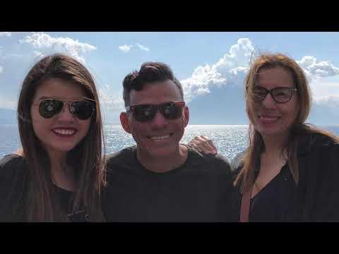 Con Julio Melgar y Familia en Panajachel y un paseo en barco en en lago de Atitlan - Luis Bravo
