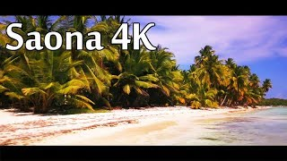 Saona Island 4K - DJI Mavic Pro 4K Sample - Cinematic drone footage