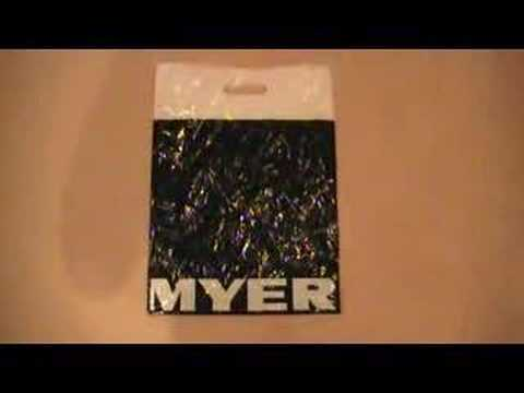Myer Fire Collectable Ping Bag