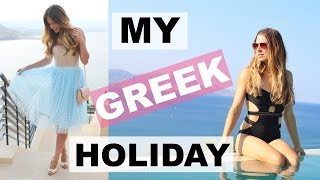 GET READY WITH ME | GREECE - TalkBeckyTalk ad