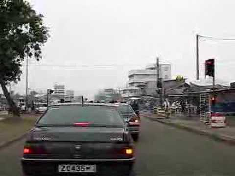 Roads in Cotonou, Benin