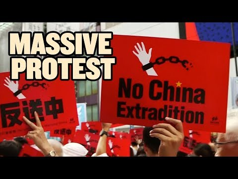 GIANT Hong Kong Protest Could Change Everything  China Uncensored