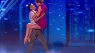 Grace & Ali: Teen Couple's Romantic BREATHTAKING Routine | Semi-finals | Britain's Got Talent 2017