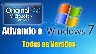 Como ativar windows 7-TODAS AS VERSÕES- ATIVADOR PERMANENTE 2018